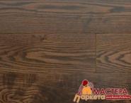 Массив доска Amber Wood Organic Ясень Кофе 120мм