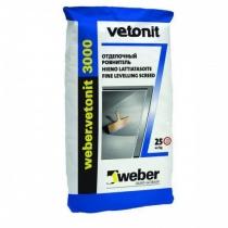 Сухие смеси Weber  weber.vetonit 3000