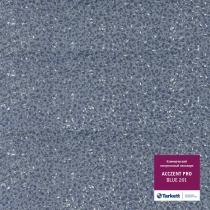 Гетерогенный линолеум Tarkett  Acczent Pro Синий 201