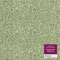 Гетерогенный линолеум Tarkett  Acczent Pro Зеленный 400