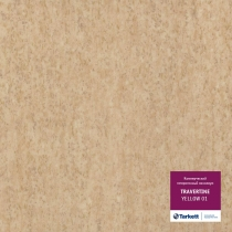 Гетерогенный линолеум  Tarkett  Travertine Yellow 01