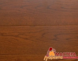 Массив доска Amber Wood Organic Дуб Шоколад 120 мм