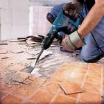 демонтажа старого напольного покрытия